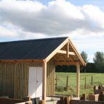 Tarland Community Garden Shed