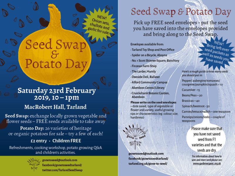 seed swap 2019 flyer combo